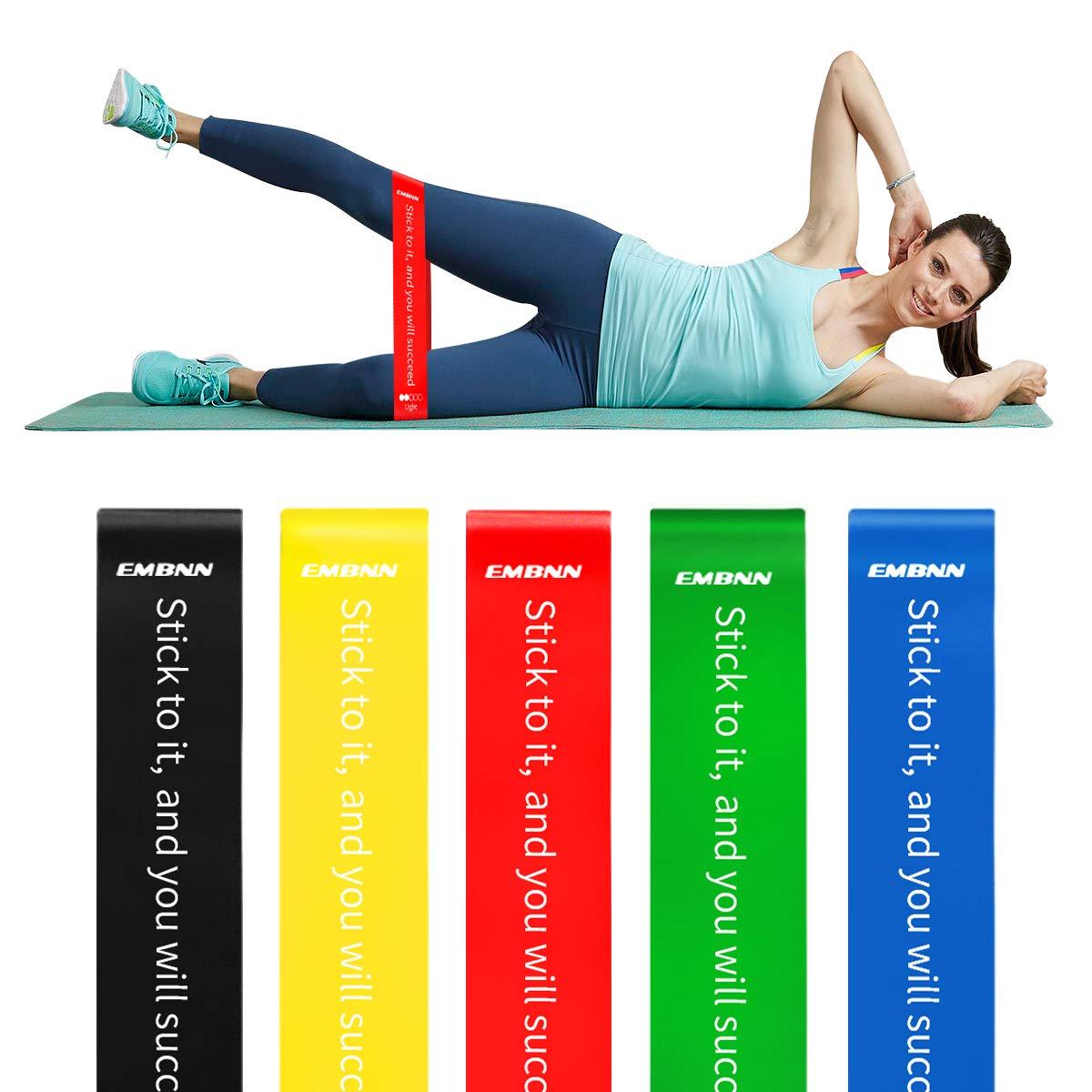 納得できる割引 embnn抵抗ループ運動バンドfor Legs and Butt、5のセット用ワークアウトバンドホームフィットネス、ヨガ、ピラティス B07CGD34M1 -、ストレッチリハビリトレーニング、物理療法 Slogan B07CGD34M1 A:Funda - Slogan A:Funda - Slogan, のぼり看板専門店ラビットサイン:b3742f35 --- beyonddefeat.com