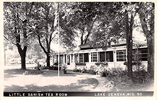 Little Danish Tea Room Lake Geneva, Wisconsin postcard