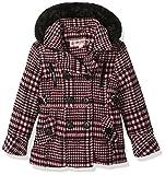 Urban Republic Big Girls' Ur Wool Jacket, Blush Yarn Dye Plaid, 14