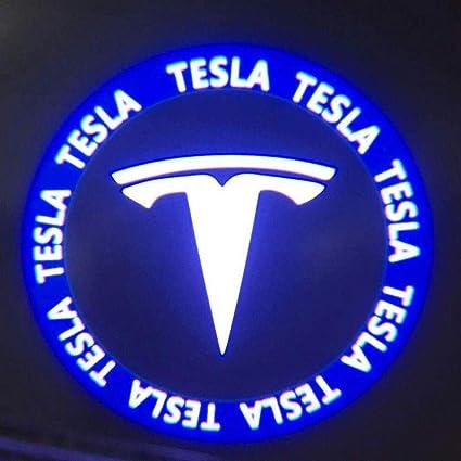 Womdee Tesla Model 3/S/X - Proyector de luz LED para Puerta de ...