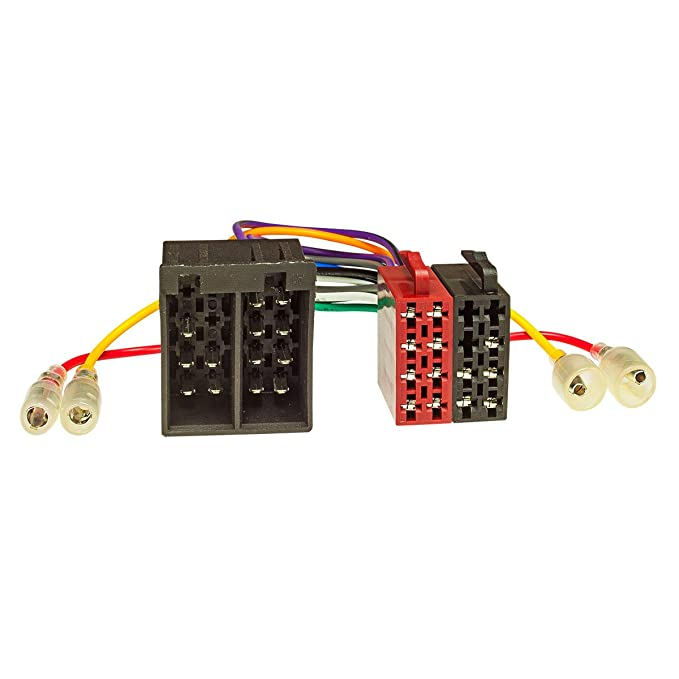 USB-Lader Fakra Antennenadapter DIN ISO tomzz Audio 2415-052 Radioblende Set passend f/ür Ford KA RU8 Bj.2009-2017 schwarz mit Radioadapter ISO
