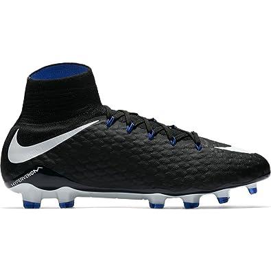 new concept 25e58 701fc Nike 852554 002, Chaussures de Foot pour Homme - Noir - Black White-