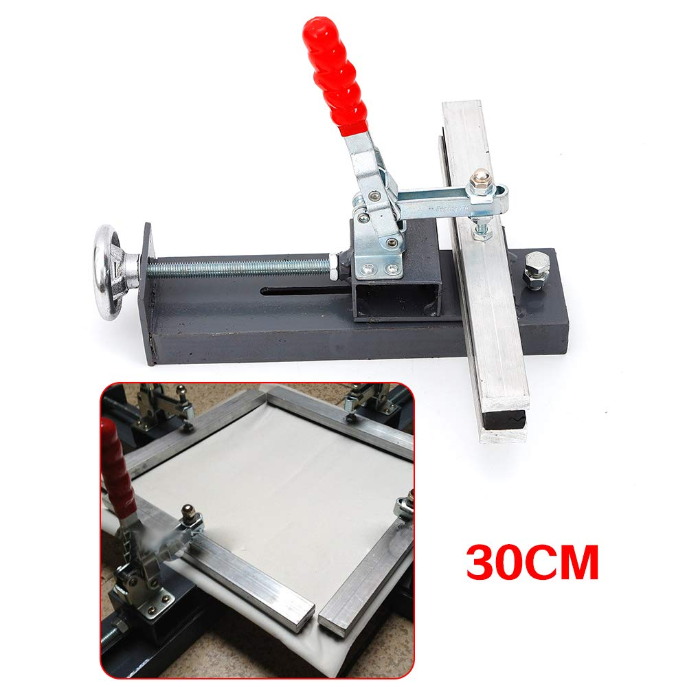 4 Pcs Manual Mesh Stretcher Screen Multiple Size Printing Stretching Clamps 11.8 Silk Screen Printing Clamp Kit