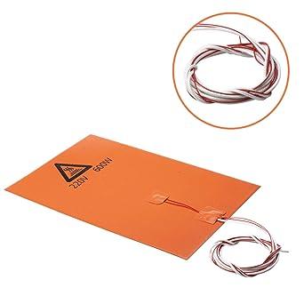 Mipcase Placa de silicona de conservación de calor de 220V 600W ...