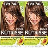Best Hair Highlight Kits - Garnier Hair Color Nutrisse Nourishing Creme, H3 Warm Review