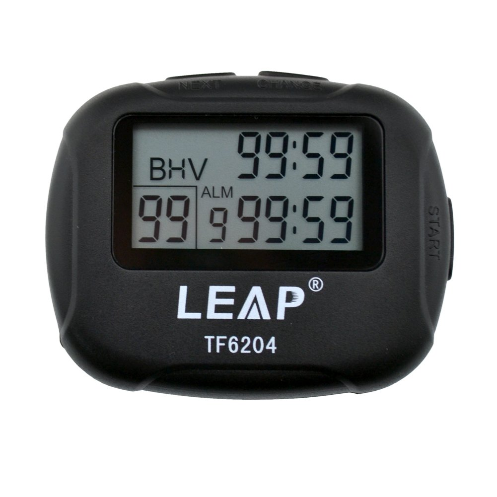 CkeyiN Interval Timer, Best Digital Sports Stopwatch Countdown LCD Clock for Crossfit,Tabata,Yoga,Hilt,Cardio,MMA/Boxing,Kettlebell,Weight lifting,Running,Stretch,and Other Sports Trainings