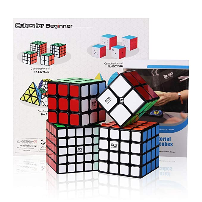 13 opinioni per Roxenda Bundle di Cubo di velocità, Magic Cube Set di Cubo di Puzzle 2x2x2 3x3x3