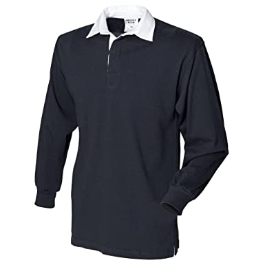 1265f0923ee Amazon.com: Front Row Long sleeve original rugby shirt: Clothing
