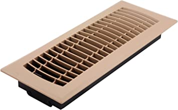 Accord APFRTPL412 Plastic Floor Register With Louvered Design, 4-Inch X 12-Inch(Duct Opening Measurements), Taupe Finish - - Amazon.com