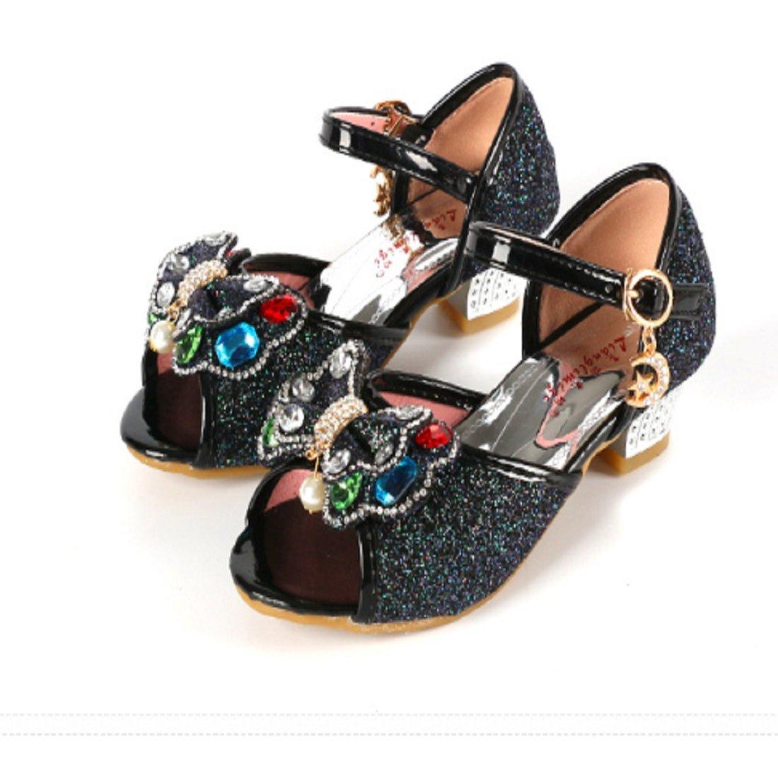 JTENGYAO Baby Girls Princess Wedding Party Glitter Shoes by JTENGYAO