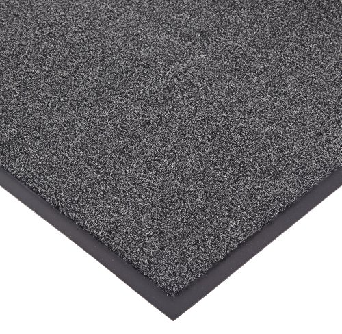 NoTrax T37 Fiber Atlantic Olefin Entrance Carpet Mat, for Wet and Dry Areas, 4' Width x 6' Length x 3/8