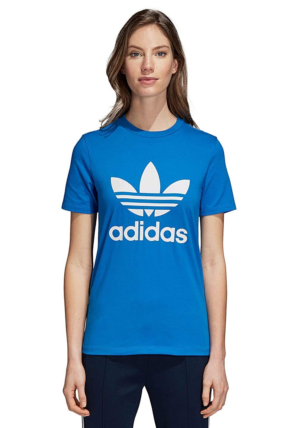Dh3178 À Femme Shirt Capuche Cadeaux Trefoil Sweat De Magasin Adidas HfwSqvgnw