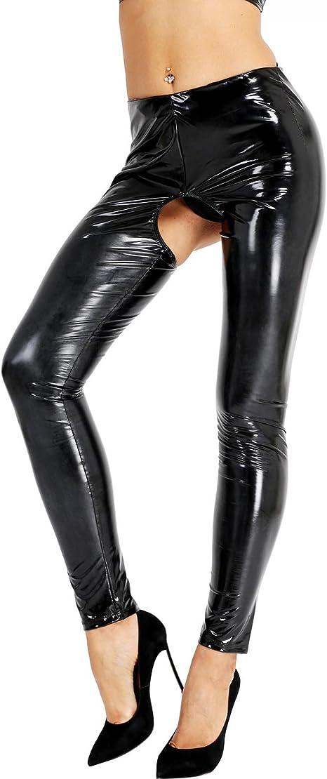 Geile leder leggings