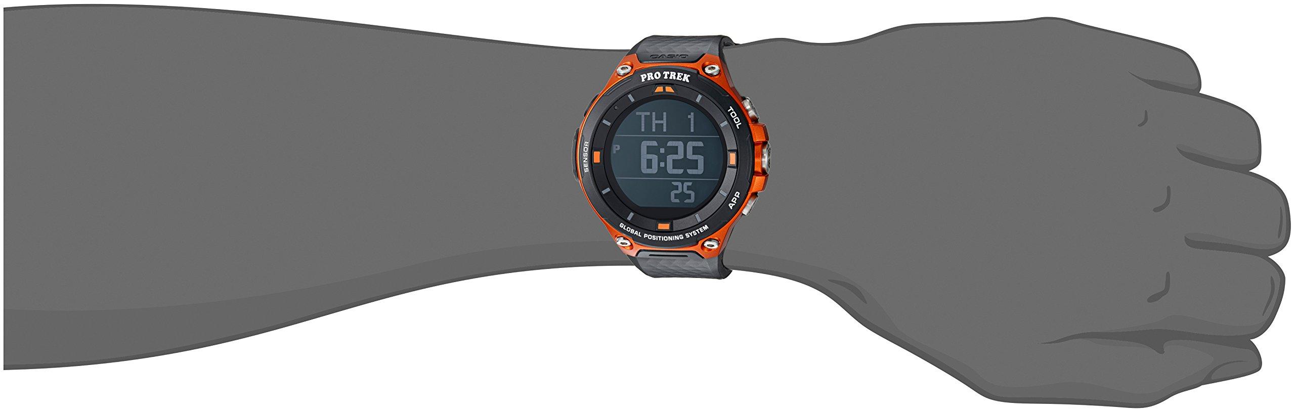 Casio Men S Pro Trek Resin Outdoor Smartwatch Color