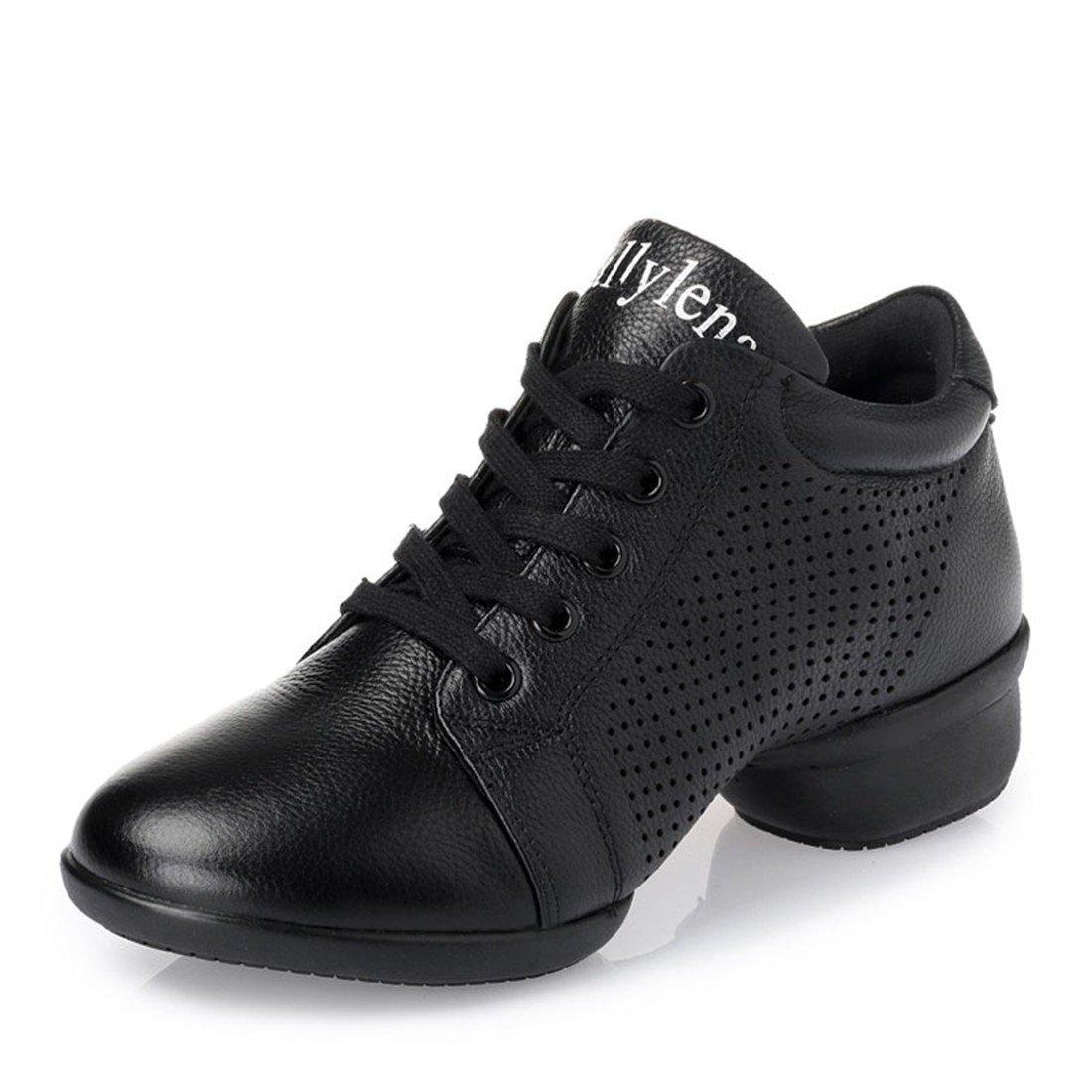 WXMDDN Das Mädchen Marine Mann Tanz Schuh schwarz schwarz schwarz Schuhe atmungsaktiv unten Dance Schuhe Vier Jahreszeiten B0787XH8PR Tanzschuhe Elegant und feierlich 4df210