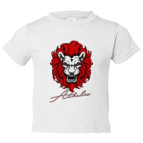 Camiseta niño ilustración león de Bilbao fan del Athletic - Blanco ...