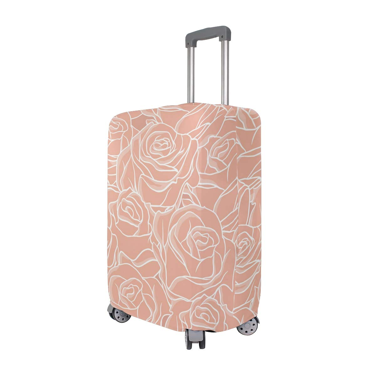 The Color Is So Pure Traveler Lightweight Rotating Luggage Protector Case Can Carry With You Can Expand Travel Bag Trolley Rolling Luggage Protector Case