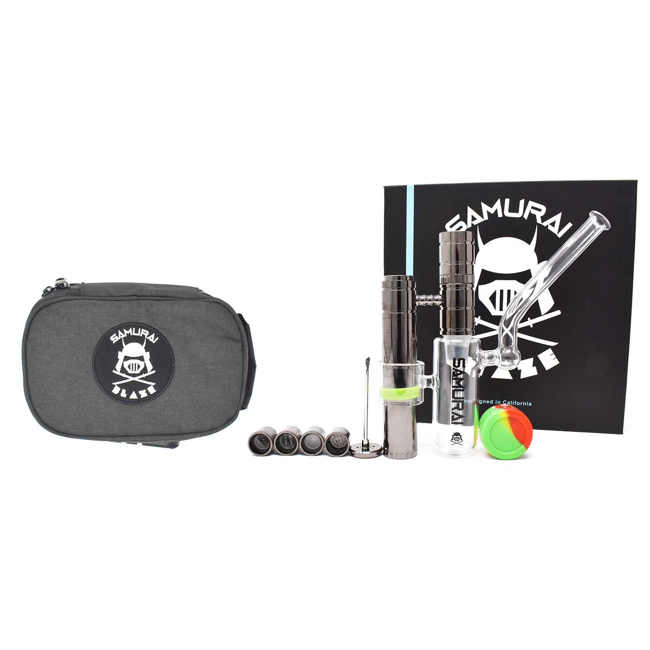 Smell Proof STASH Bag/Pouch/Bag   Thick Carbon Lined with Customizable Compartments - Art Supplies, Smelly Food, Smoking Accessories (BAPE, BAPE Combo) by SAMURAI BLAZE (Image #1)