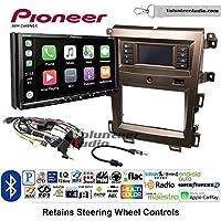 Volunteer Audio Pioneer AVH-2440NEX Double Din Radio Install Kit with Apple CarPlay, Android Auto and Bluetooth Fits 2011-2014 Edge (Bronze)