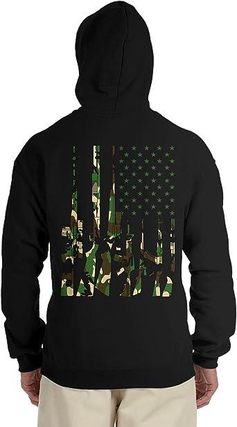 SpiritForged Apparel USA Camoflauge Hooded Sweatshirt