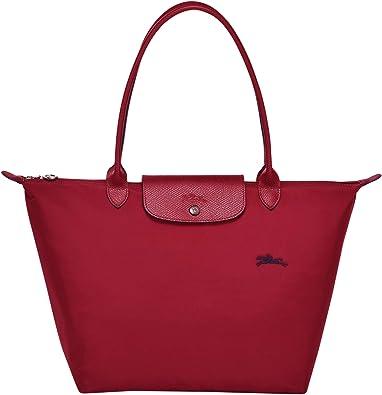 LONGCHAMP Le Pliage Club Grand sac bandoulière Rouge: Amazon.fr ...