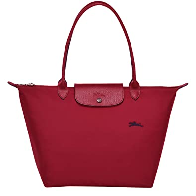 LONGCHAMP Le Pliage Club Large shoulder bag (Red)  Amazon.co.uk  Shoes    Bags 2956ad3f66519