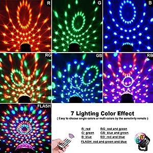 61Mqa6f4hTL. SS300  - LED-Discokugel-Kinder-OMERIL-Discolicht-Musikgesteuert-Disco-Lichteffekte-RGB-Partylicht-Zeitgesteuertes-USB-Stimmungslicht-mit-7-Farben-4-Helligkeiten-und-Fernbedienung-fr-Kinder-Zimmer-Party