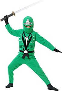 Charades Ninja Avenger Series II Child's Costume, Small Jade