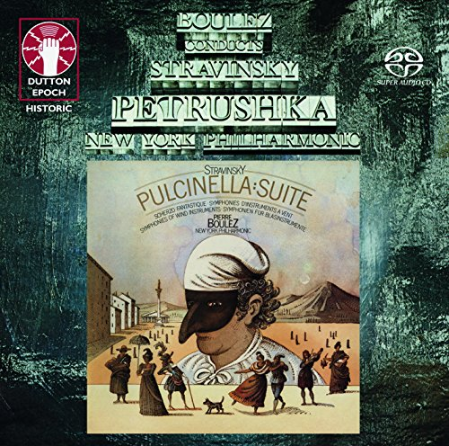 (Pierre Boulez conducts Stravinsky: Petrushka & Pulcinella Suite [SACD Hybrid Multi-channel])