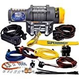 Superwinch 1135220 Terra 35 3500lbs/1591kg single line pull with roller fairlead, handlebar mnt toggle, handheld remote