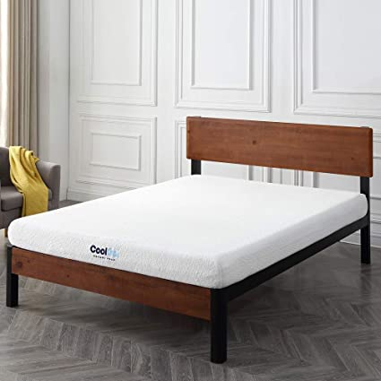 Amazon Com Classic Brands Cool Gel Memory Foam 6 Inch Mattress