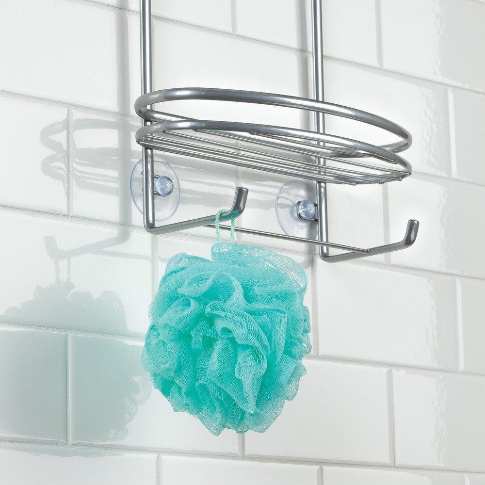 Amazon.com: InterDesign Axis Hanging Shower Caddy - Bathroom Storage ...
