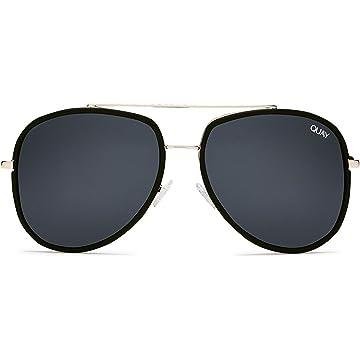 892aea03fc6c6 Amazon.com  Quay Australia FRENCH KISS Women s Sunglasses Oversized ...