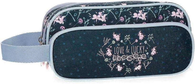 Estuche Enso Love and Lucky tres compartimentos: Amazon.es: Equipaje