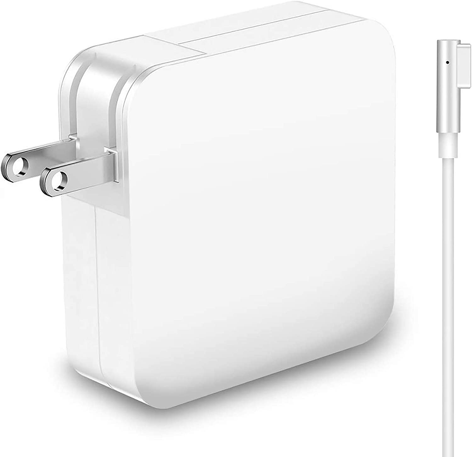 Mac Book Pro Charger, Replacement 60W Power Adapter L-Tip Magnetic Connector Charger for Mac Book Pro 13-inch(Before Mid 2012 Models) (60L Tip)