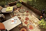 Mohawk Home Alexa Medallion Indoor/ Outdoor Printed