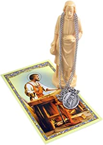 St. Joseph Statue Home Seller Kit with Prayer Card and Medal