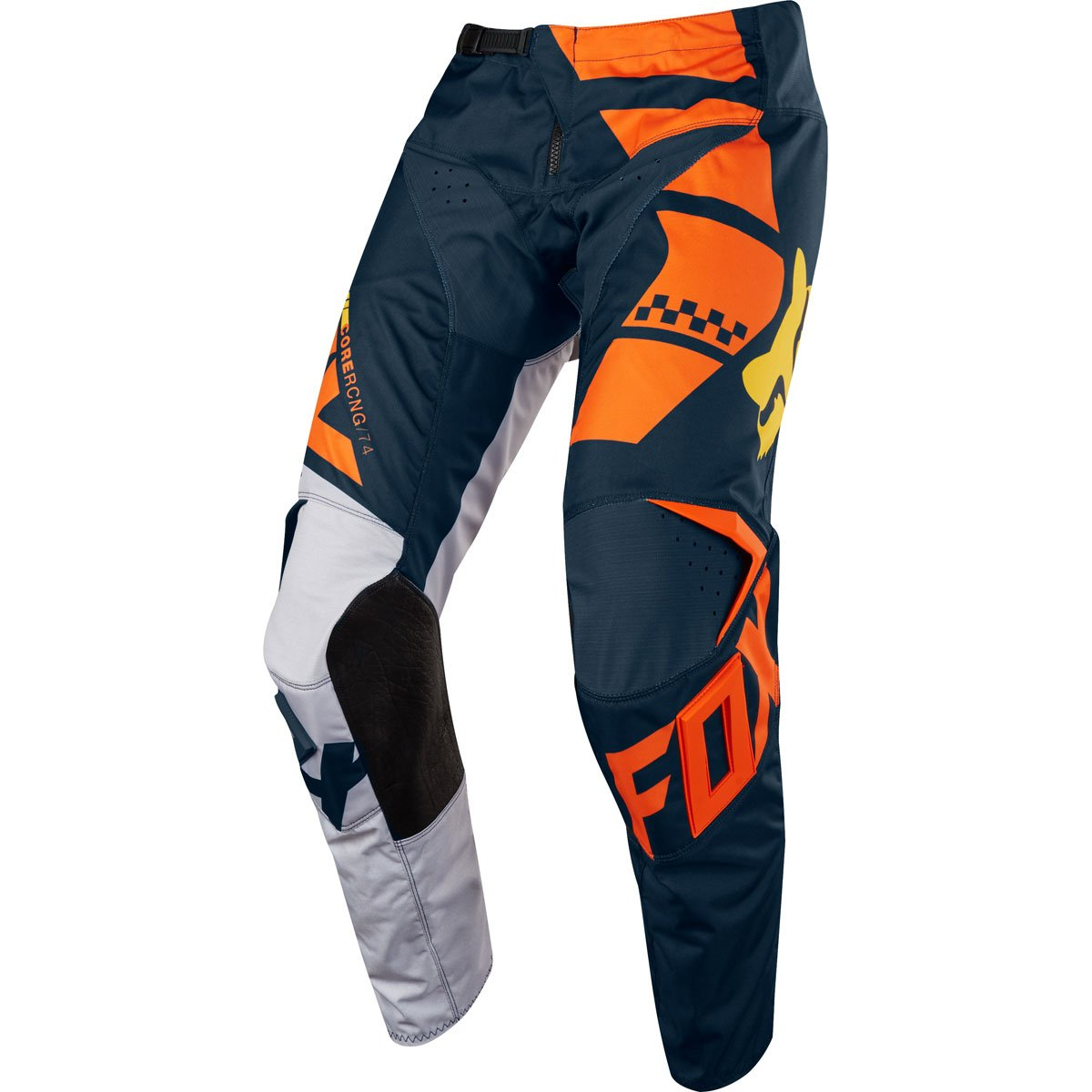 2018 Fox Racing Kids 180 Sayak Pants-Orange-K4