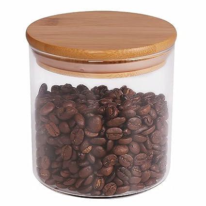 Food Storage Jar, 18.6 FL OZ (550 ML), 77L Glass Food Storage