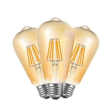 10 Stück Glühbirne Led Kerze industrielle Glühlampe Retro Filament Vintage 4W