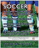 "Unframed Soccer Female Team Players 8"" x 10"" Sport Poster Print"