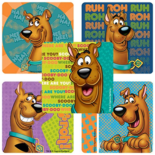 SmileMakers Scooby-Doo Stickers - Prizes 100 per Pack -