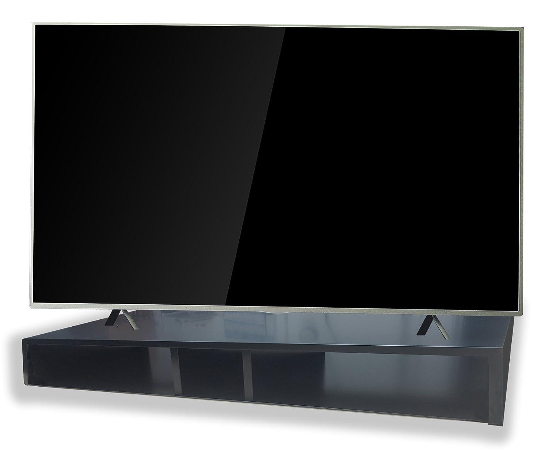 Amazon Com Rizervue Tv Stand For Flat Screen Xl Black Tabletop