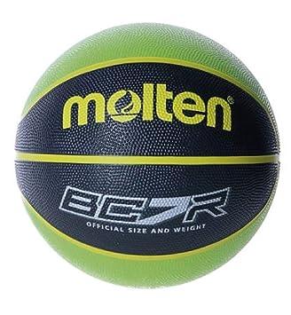 MOLTEN Balon Baloncesto BC7R2 Verde Negro Talla 7: Amazon.es ...