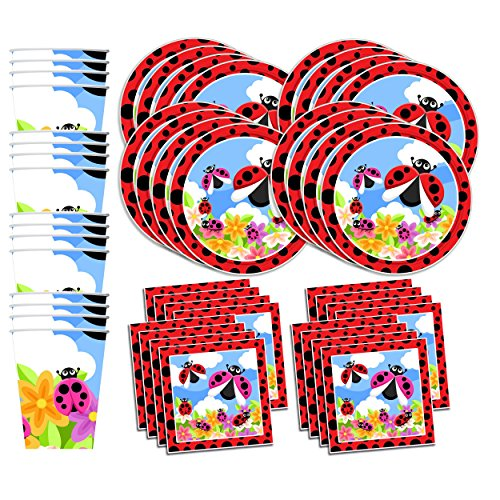 Top ladybugs birthday party supplies for 2019