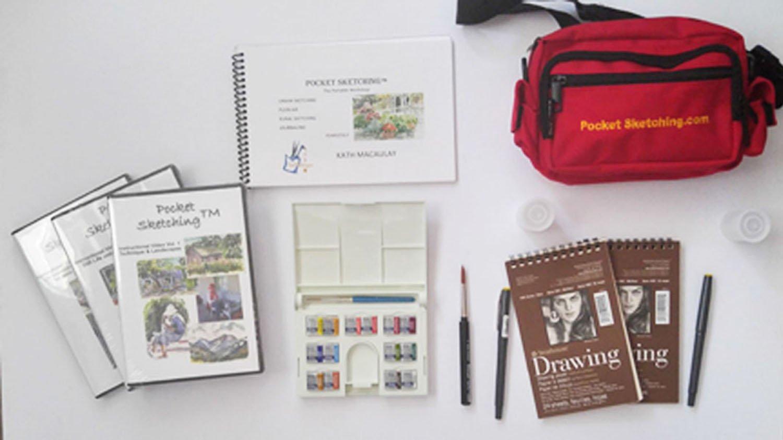 Pocket Sketching Ultimate Kit by Pocket Sketching