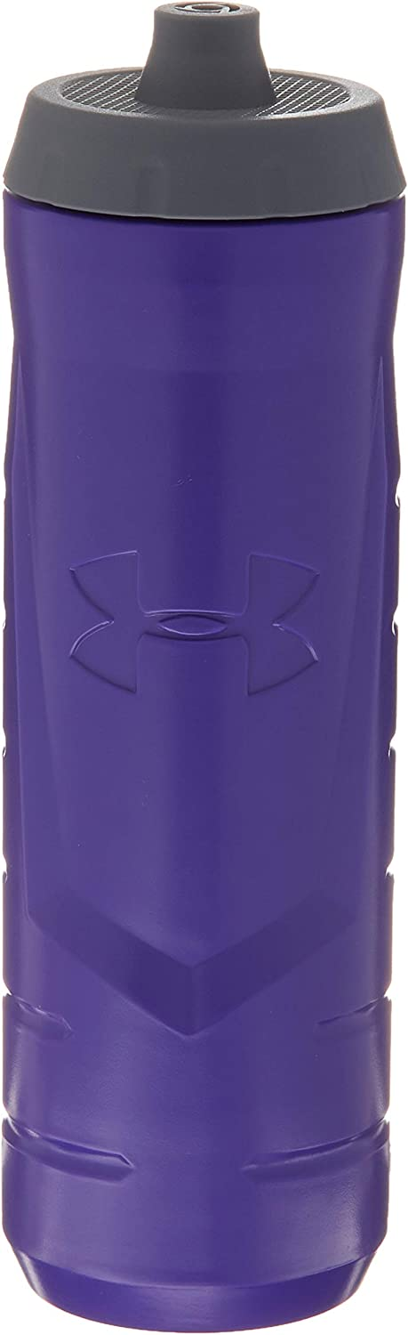 Under Armour Sideline 32 Ounce Squeezable Bottle, Purple