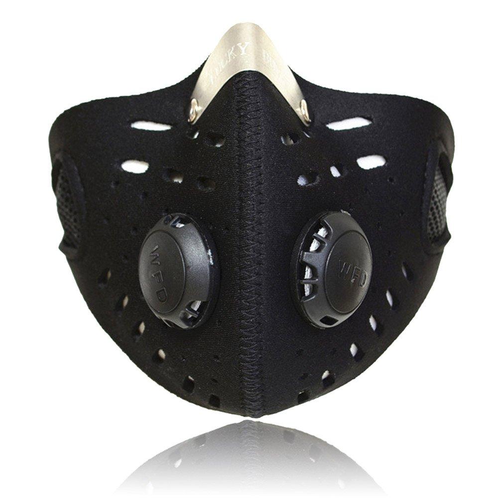 Lixada Máscara para Ciclismo Bicicleta Deportivao Filtro de Aire Contaminantes para Montar Viajar Actividades al Aire Libre Protección Universal: Amazon.es: ...