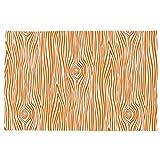 Carousel Designs Orange Woodgrain Toddler Bed Pillow Case