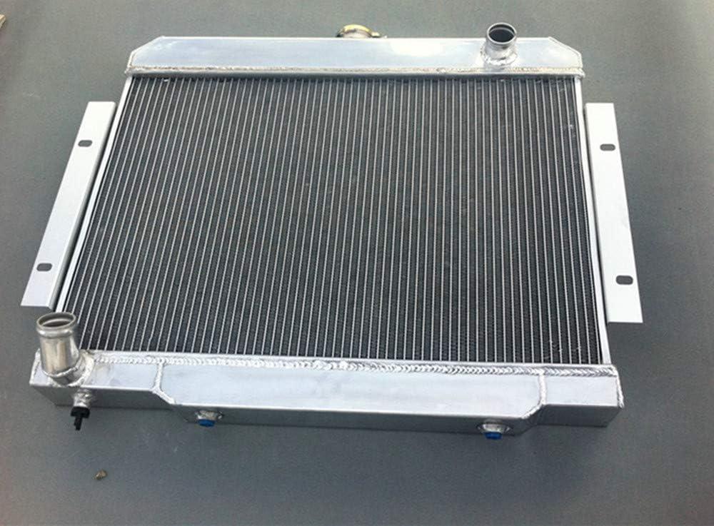 2 ventilateurs. Radiateur 3 rang/ées en aluminium pour 1970-1985 CJ CJ5//CJ6//CJ7 3,8L-5,0L